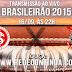 BRASILEIRÃO - INTERNACIONAL x CORINTHIANS - 22h - 16/09