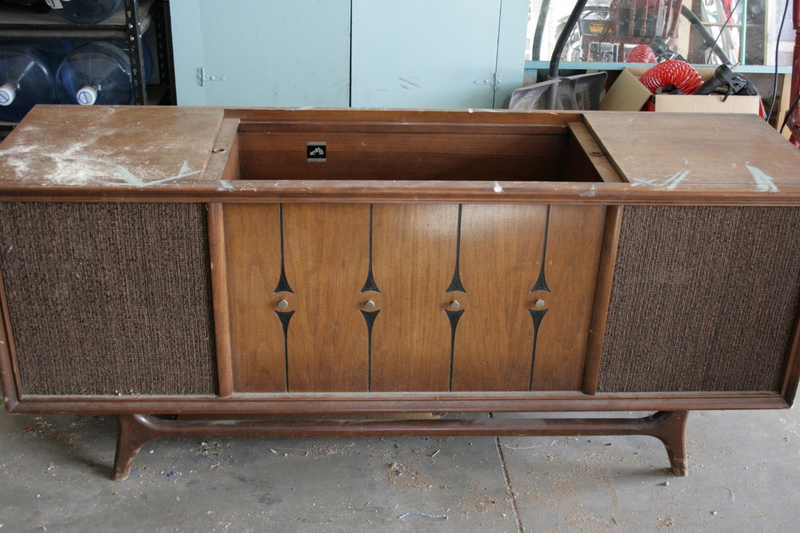 Repurposed Stereo Console