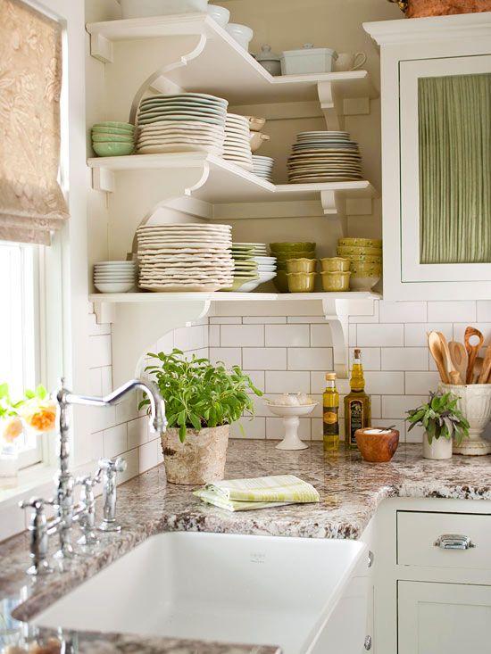 Open Kitchen Shelves Inspiration: California Livin Home: Kitchen Inspiration: Open Shelves