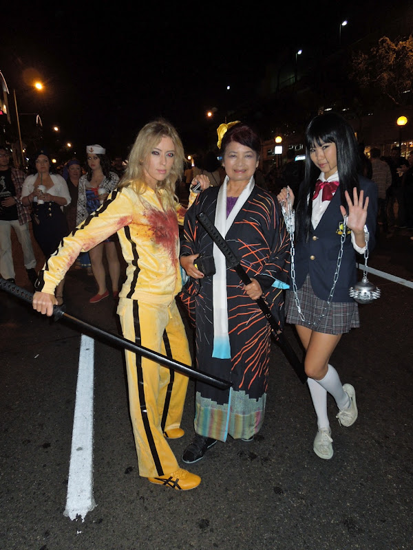 West Hollywood Halloween Carnaval Kill Bill