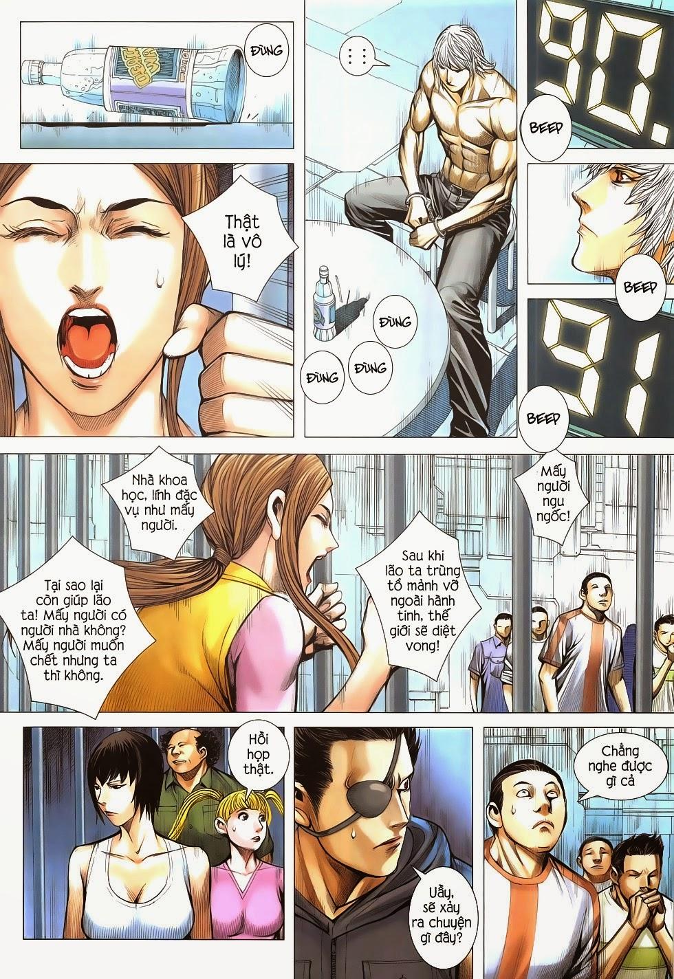 Đại Quân Phiệt chap 53 - Trang 14