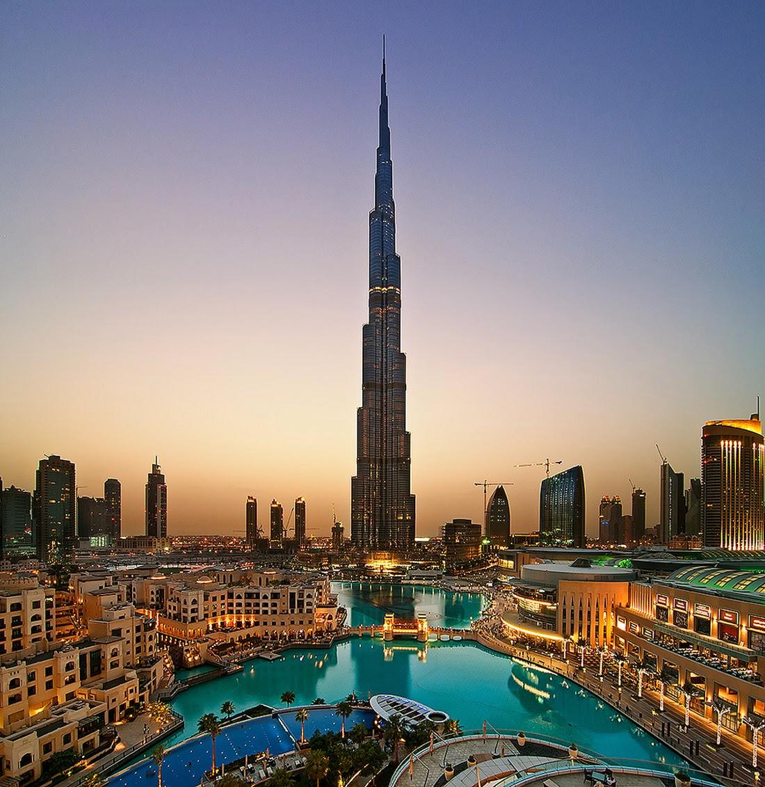 moderna de casi kilmetro de altura conocida como burj khalifa o burj dubai ostenta en la actualidad el ttulo del edificio ms alto del mundo