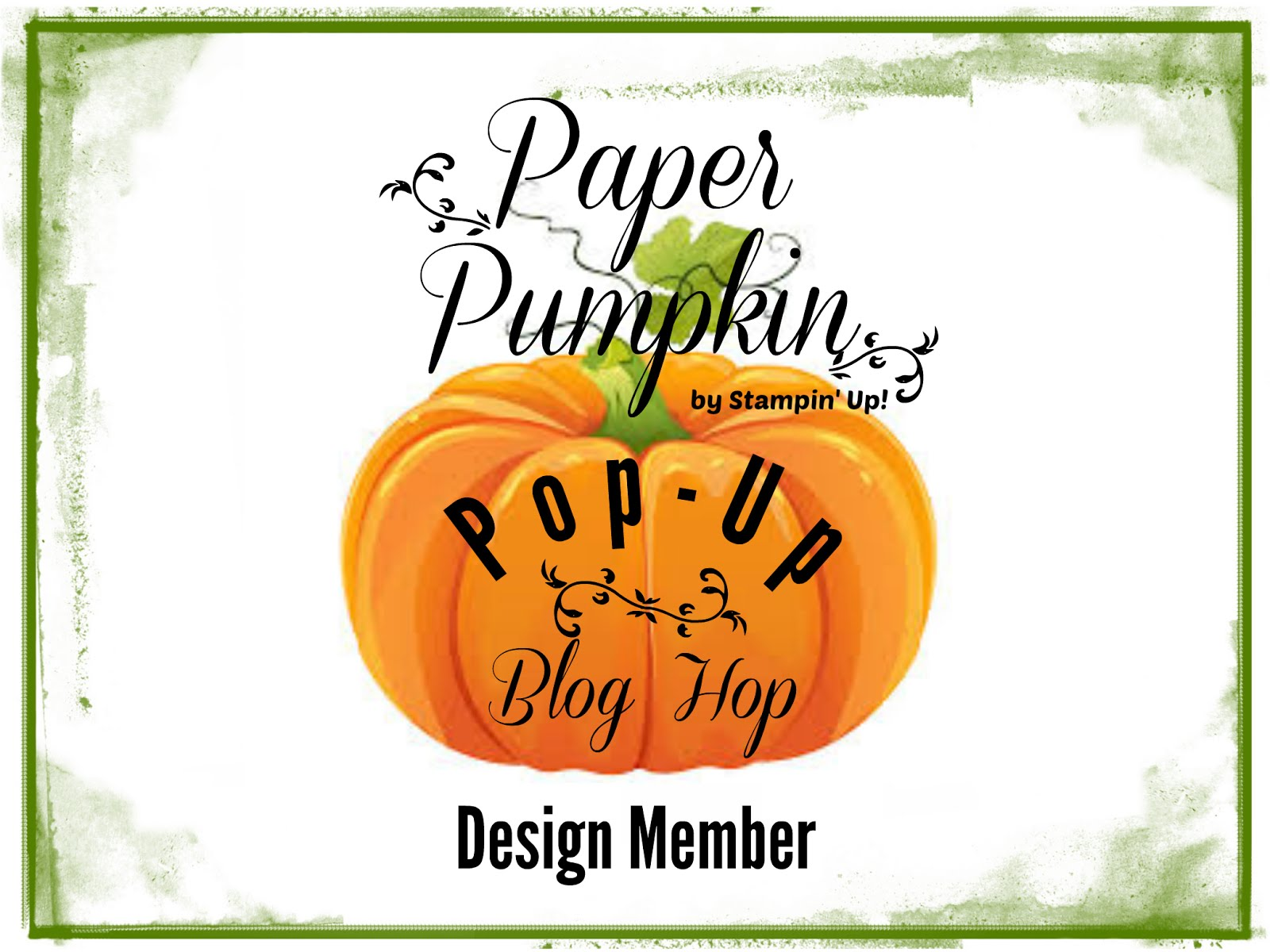 Paper Pumpkin Pop Up Blog Hop Designer