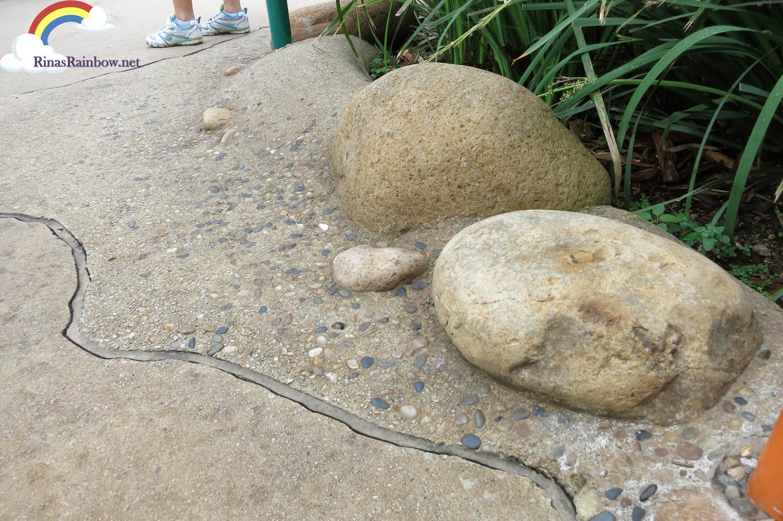 big pebbles