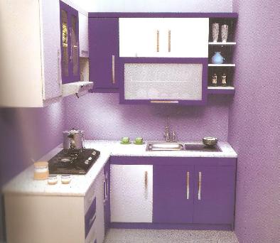 desain rumah dapur bentuk l inspirasi