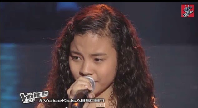 "Shanne Dandan sings ""Tadhana"" on 'The Voice Kids' Philippines"