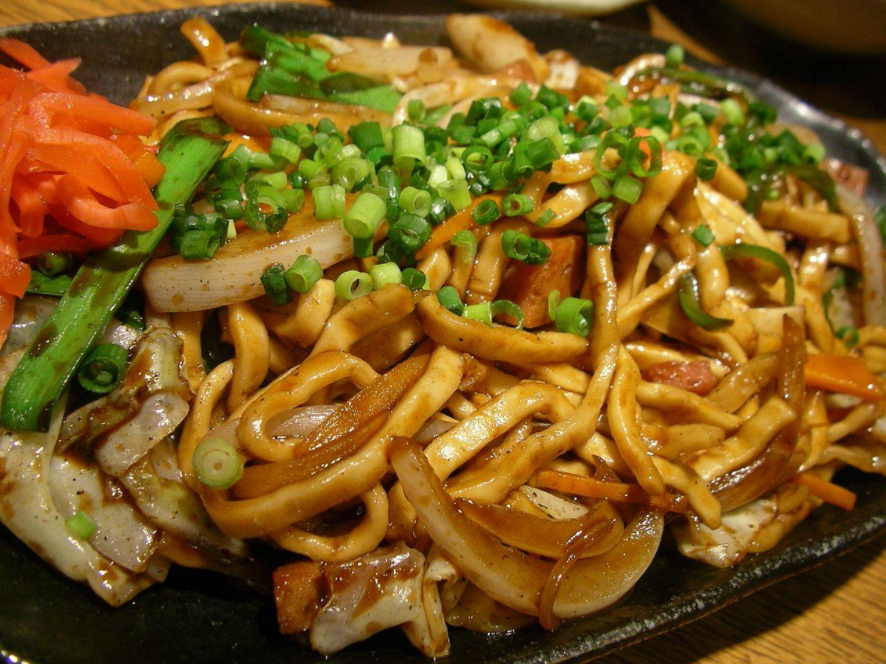 Keywords: japanese food recipes , yakisoba