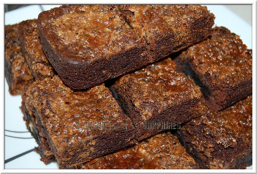 ... Sapphires: Easy Recipe: Peanut Butter Oreo Butterfinger Brownies
