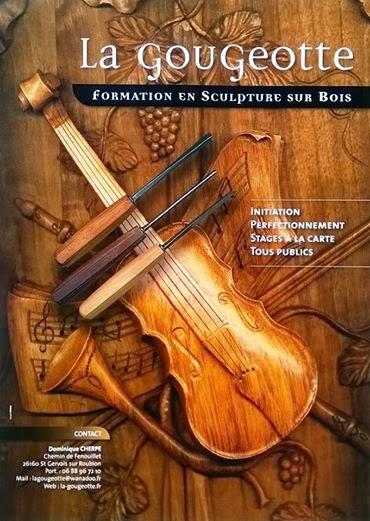 workshops houtsnijwerk in Frankrijk