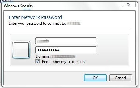 how do i find my windows security network password