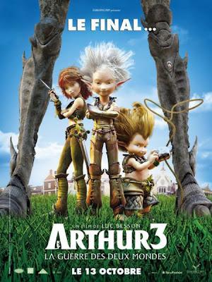 Arthur y los Minimoys 3 en Español Latino