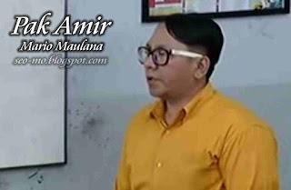 Foto Anak Jalanan Mario Maulana sebagai Pak Amir