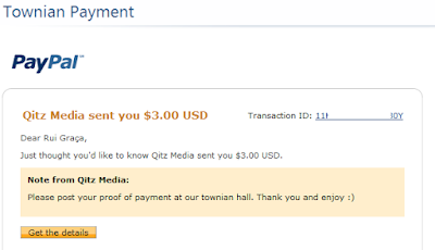 townian payment proof