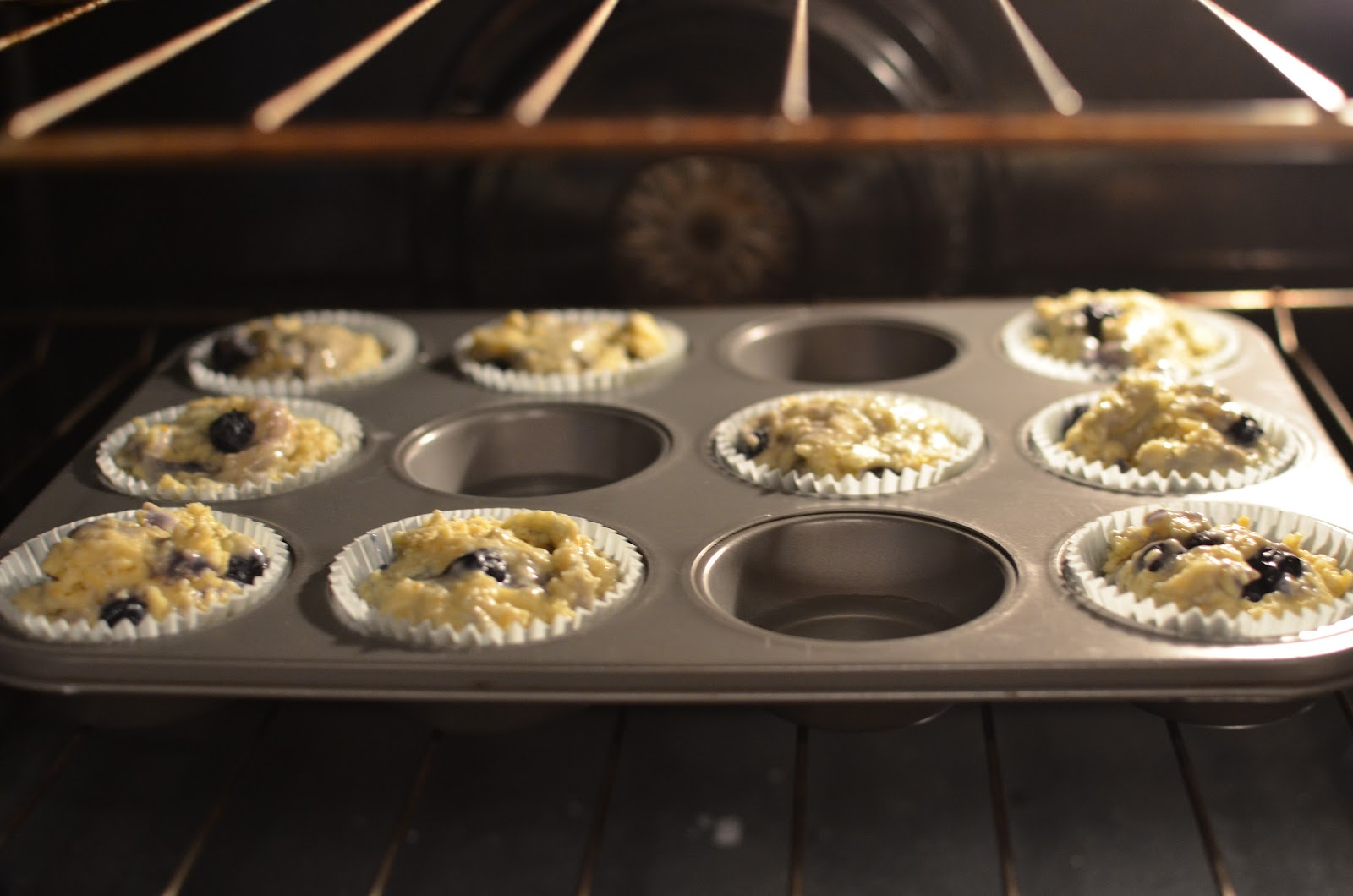 Playing with Flour: Blueberry muffins with orange zest