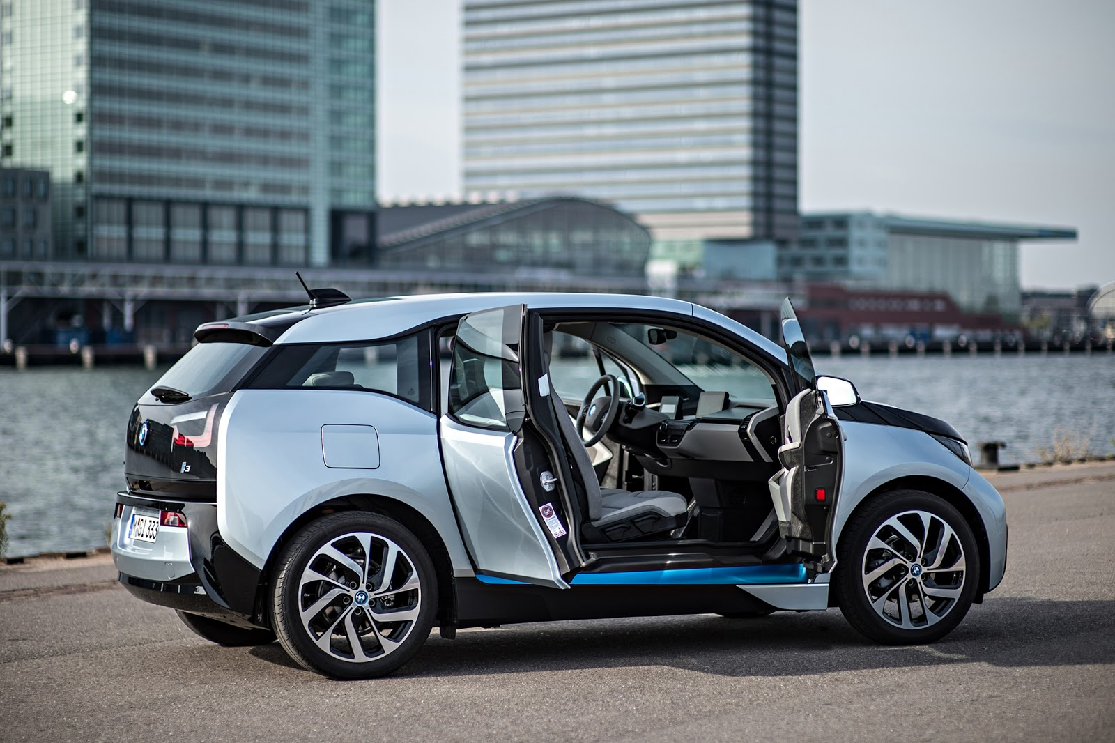 BMW i3s The Drive to Net Zero Energy BMW Tesla Doors done
