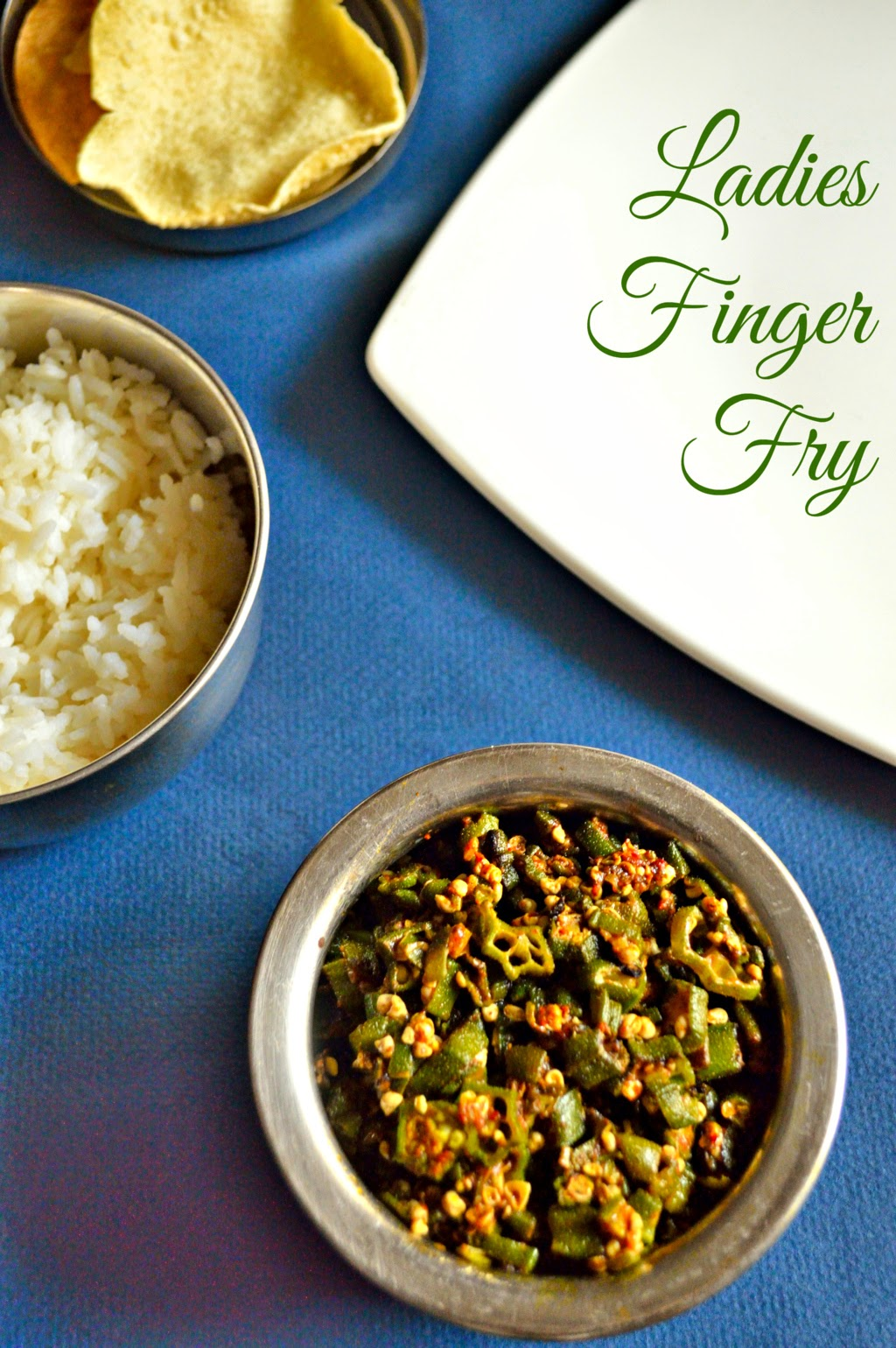 how to make ladies finger fry or poriyal, crispy golden bhindi fry recipe,okra recipes