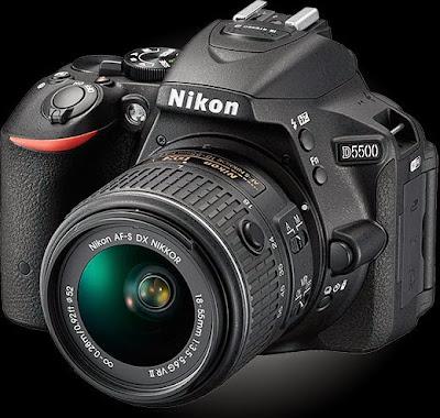 Spesifikasi dan Harga DSLR Nikon D5500