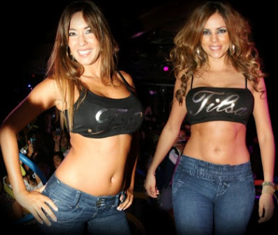 Maricris Rubio con Tilsa Lozano