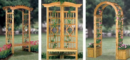 Stockades Blog Feature Product Garden Trellis Plans