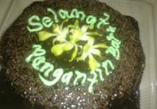 "Kek Coklat Meleleh @ RM35 (bulat9"" <>1kg)"