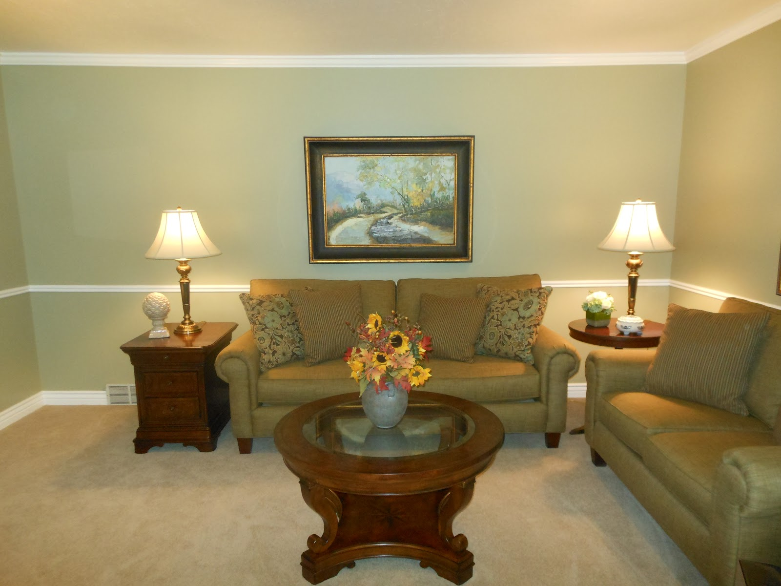 Client Reveal: Formal Living Room. Wednesday, October 03, 2012