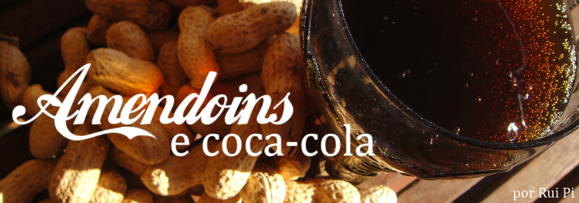 Amendoins e coca-cola