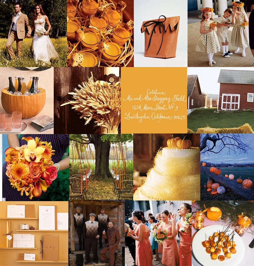 "November Wedding Ideas: Fall Inspiration On ""Snippet & Ink""..."