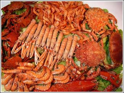 Gastronomía de La Coruña - excelente marisco