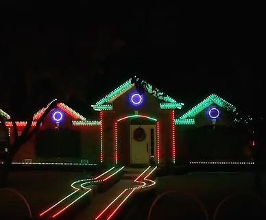 2015 johnson family dubstep christmas light show - Dubstep Christmas