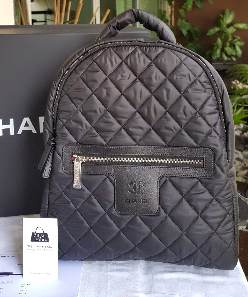 8afc69ed2e45 Chanel Black Nylon Backpack- Fenix Toulouse Handball