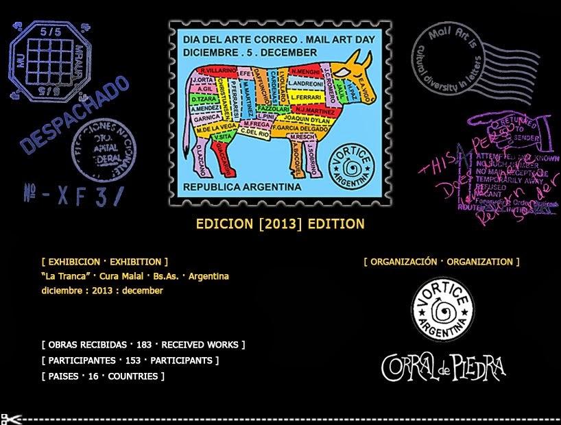 """""""Día del Arte Correo"""" / """"Mail Art Day"""""""
