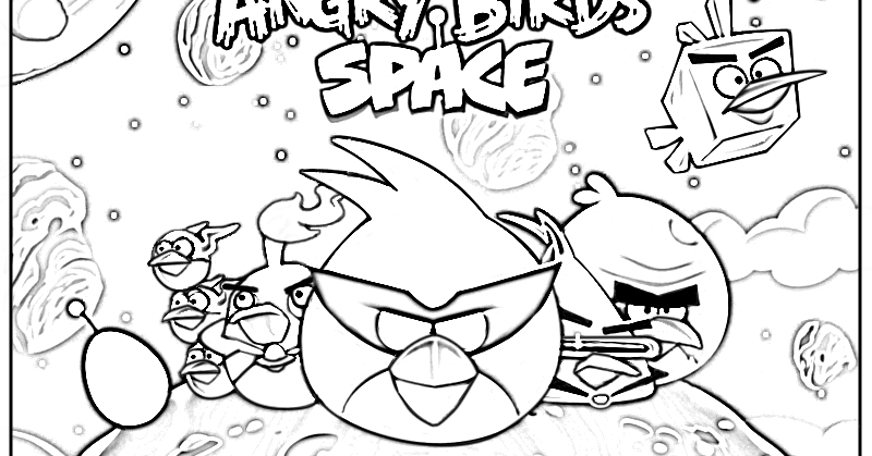 Angry birds home autos weblog for Angry bird space coloring pages