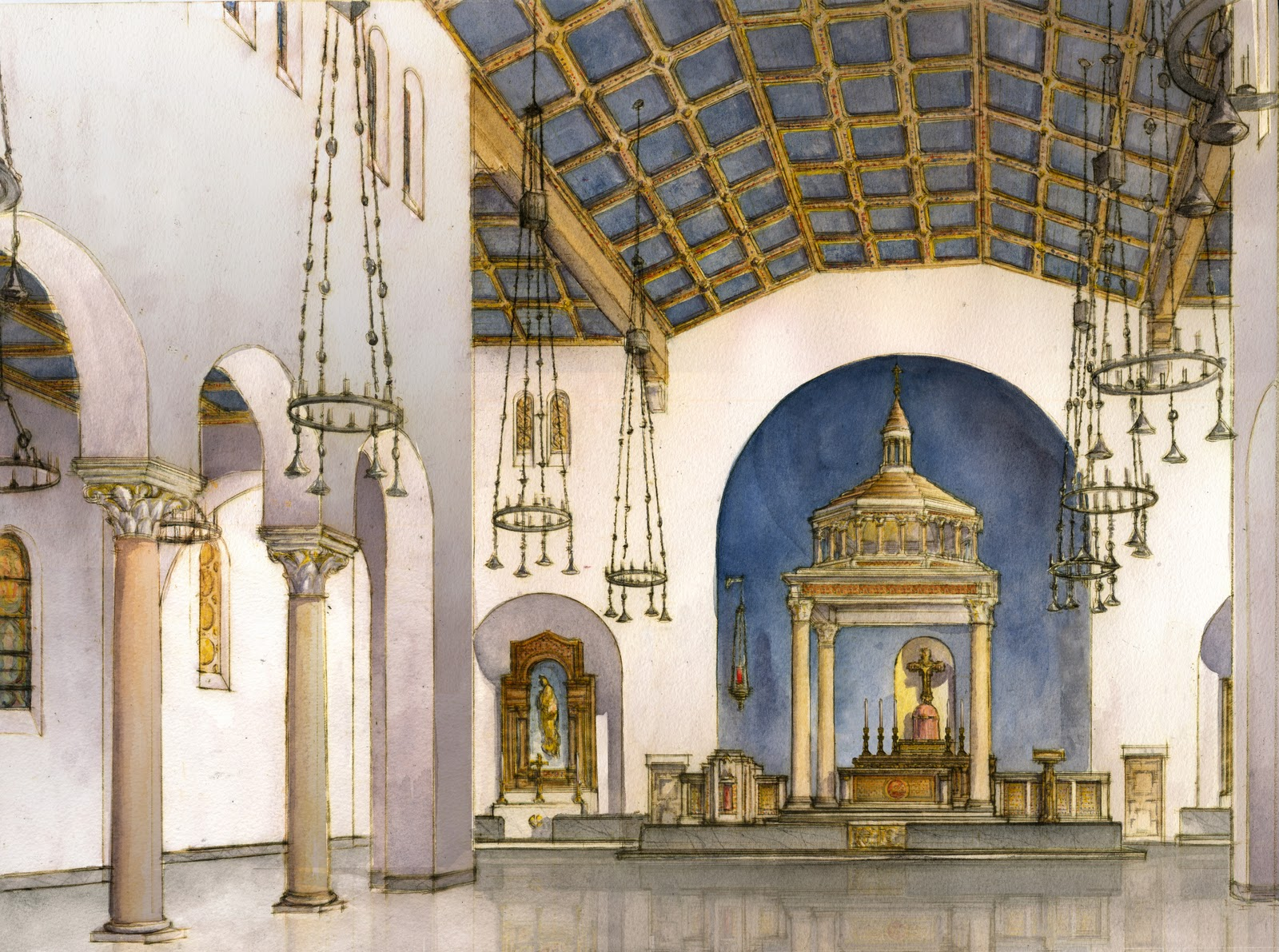 Why catholics should build beautiful churches Architects in greenville sc