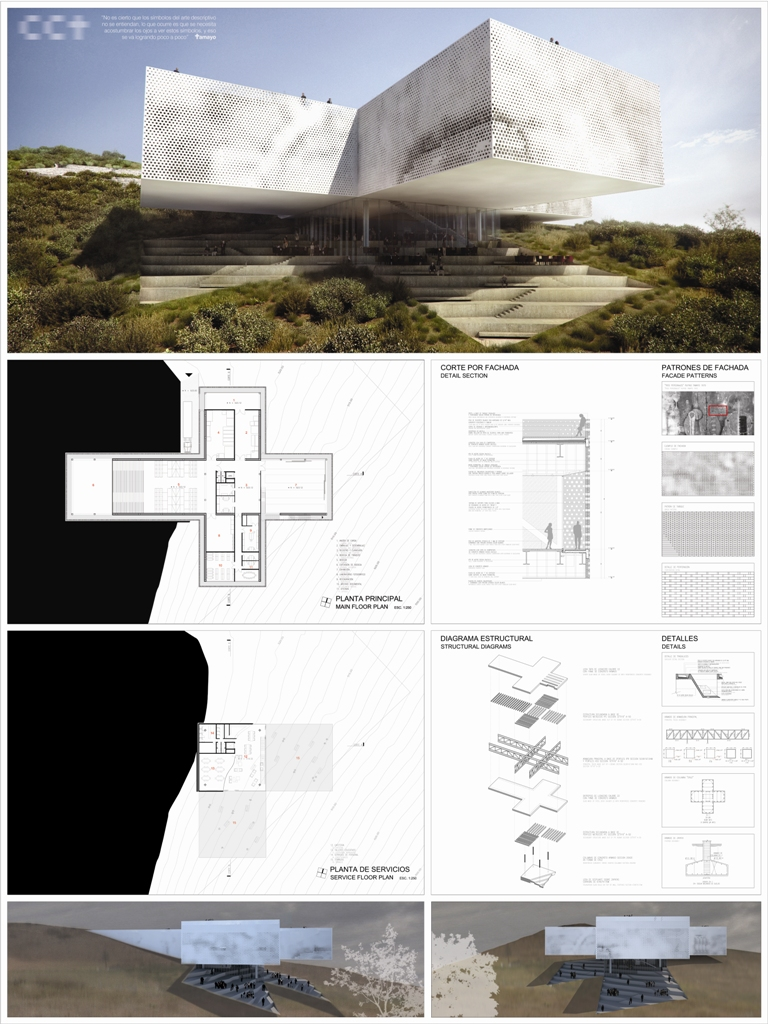 Architecture villa image architecture presentation board for Architecture simple