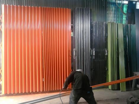 gambar untuk folding gate depok