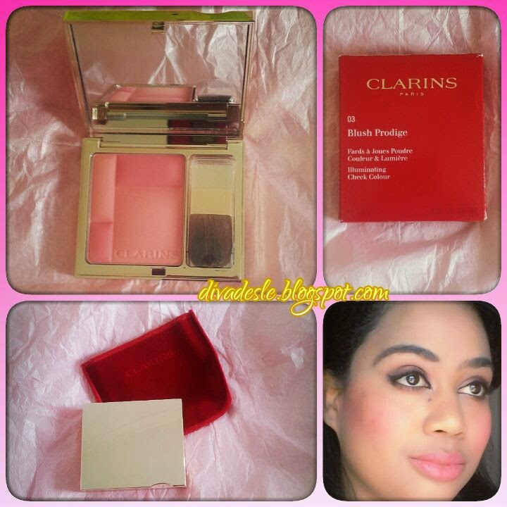 Clarins Blush Prodige 03 Miami Pink Review - Diva Desle