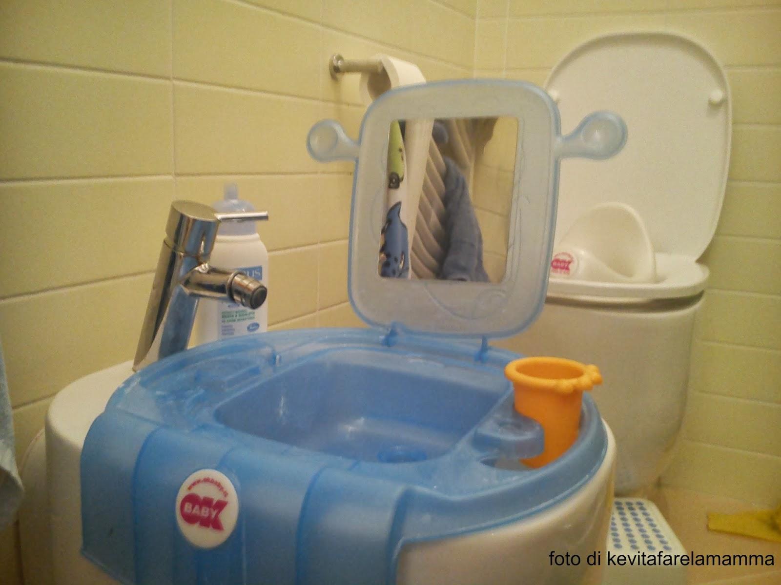 Chi fa da s fa per tre anche in bagno ok baby space mini lavabo kevitafarelamamma - Supposte per andare in bagno ...