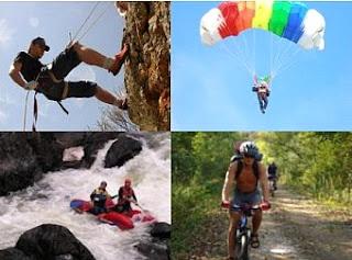 Deportes de montaña, rafting y kayaking en el lejano oeste