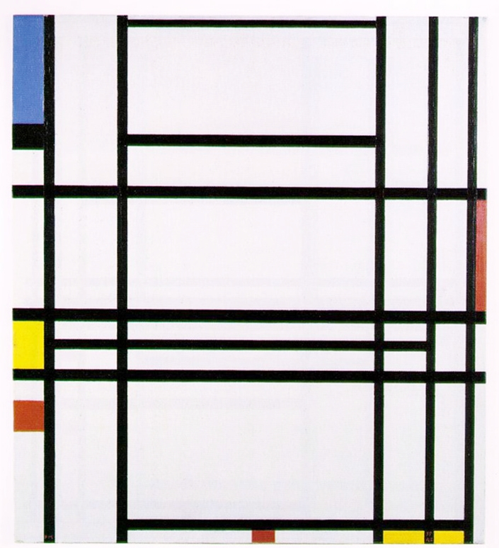 Piet Mondrian 1872-1944 | Minimalist Art Movement