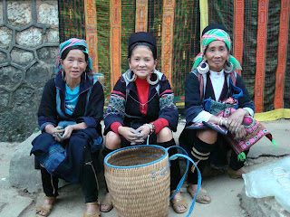Black H'mong Ethnic Minorities in Sapa 1