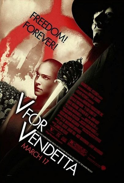 Download Film V for Vendetta (2005) BluRay 720p 5.1 CH