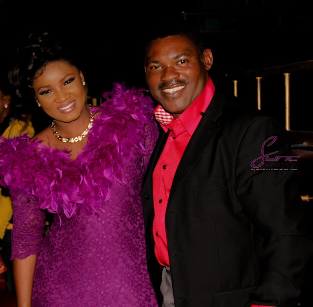 omotola jalade in london
