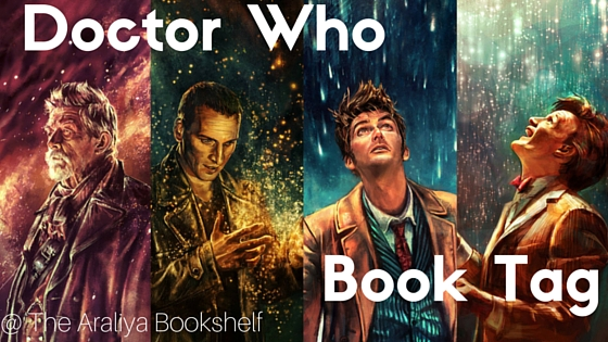 the doctor who book tag graphic