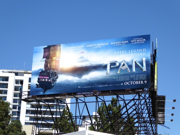 Pan Jolly Roger billboard