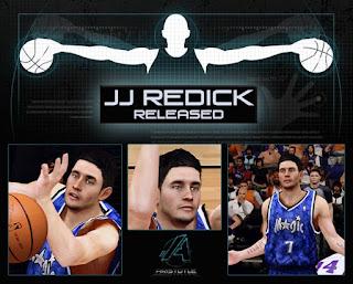 NBA 2K13 J.J. Redick Cyber Face Update