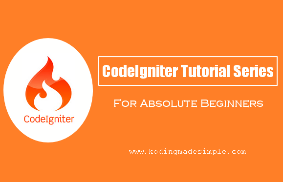 Php codeigniter tutorials for beginners step by step learn from scratch php codeigniter tutorial for beginners step by step fandeluxe Images
