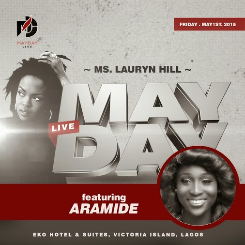 Maydaylive Concert  Lauryn Hill Ft Aramide
