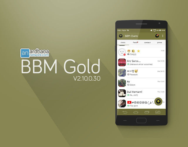 BBM Simple Gold
