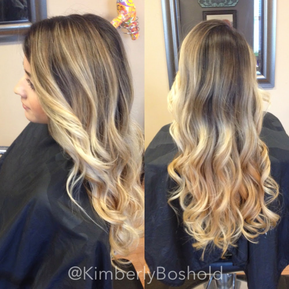 May hair 2014 hair by kimberly before heavy highlights with natural outgrowth after subtle beige blonde balayage ombr pmusecretfo Gallery