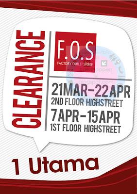 F.O.S Clearance 1 Utama
